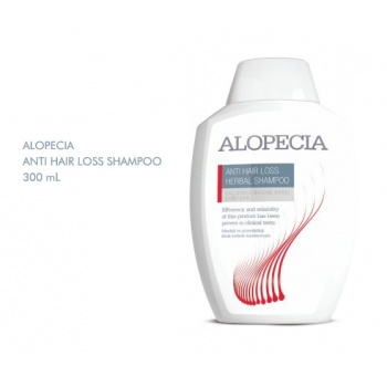 ALOPECİA ANTİ HAİR LOSS HERBAL SHAMPOO 300 ML