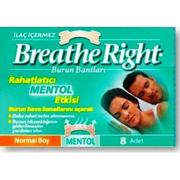 BREATH RİGHT NORMAL BOY 10 ADET MENTOL BURUN BANTI