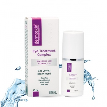 DERMOSKİN EYE TREATMENT COMPLEX 15 ML-DERMOSKİN GÖZ ÇEVRESİ BAKIM KREMİ 15 ML