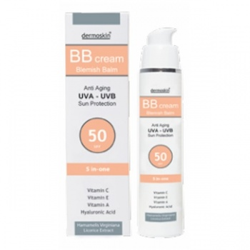 DERMOSKİN BB CREAM 5İN1 50 SPF 50 ML