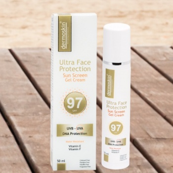 DERMOSKİN ULTRA FACE PROTECTION SPF 97 50 ML GEL CREAM-YÜKSEK KORUMA FAKTÖR