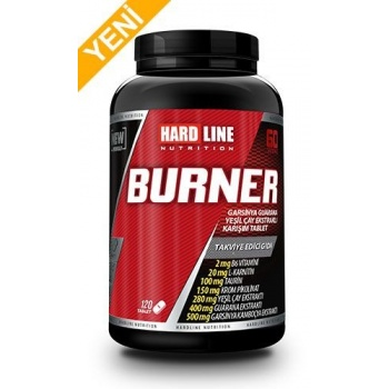 HARDLİNE BURNER 120 TABLET