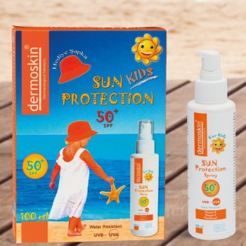DERMOSKİN SUN PROTRCTİON FOR KİDS SPF 50 100 ML+ŞAPKA HEDİYELİ