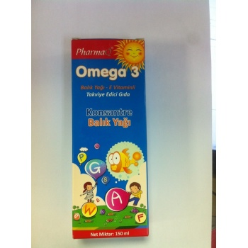 PHARMAQ OMEGA 3 KONSANTRE BALIK YAĞI 150 ML