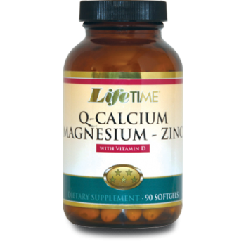 LIFETIME Q - CALCİUM MAGNESİUM ZİNC WİTH VİTAMİN D 90 SOFTGELS