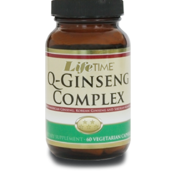 LIFE TIME Q - GINSENG COMPLEX VEGGİE 60 CAPSULES