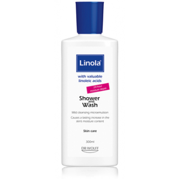 LİNOLA SHOWERWASH 300 ML-LİNOLA DUŞ JELİ 300 ML