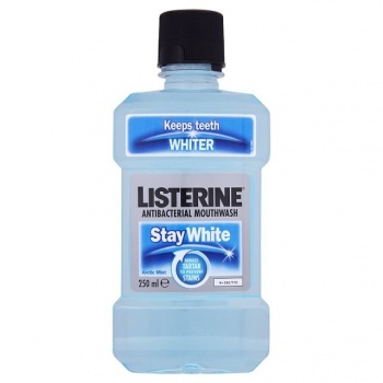 LISTERINE STAY WHITE 250 ML