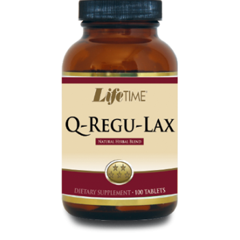 LİFETIME Q-REGU-LAX TABLETS 100 TABLETS