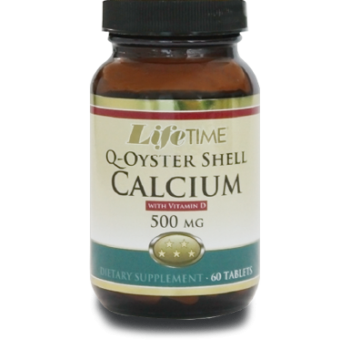 LİFETIME Q-OYSTER SHELL CALCİUM WİTH VİT D TABS 500 MG -60 CAPSUL