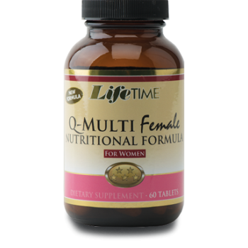 LİFETIME Q-MULTİFEMALE TABLETS 60 TABLETS
