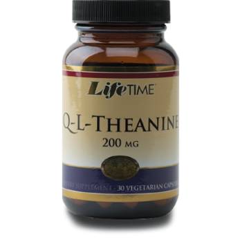 LİFETIME Q-L-THEANİNE 200 MG CAPSULS 200 MG - 30 VEGETARIAN CAPSUL