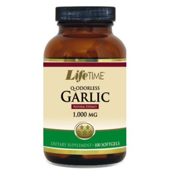 LİFE TIME Q ODORLESS GARLİC 1000 MG SOFTGELS