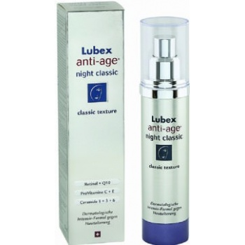 LUBEX ANTİ AGE CLASSİC NİGHT 50-GECE KREMİ