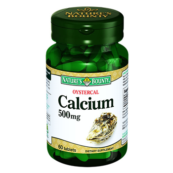 NATURES BOUNTY OYSTERCAL CALCİUM 500 MG 60 TABLET