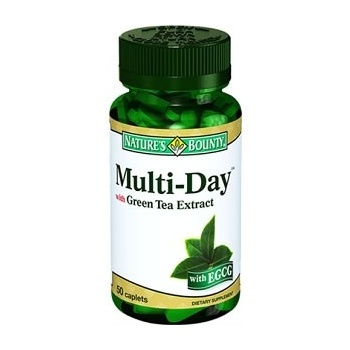 NATURES BOUNTY MULTİ-DAY WİTH GREEN TEA EXTRACT 50 TABLET