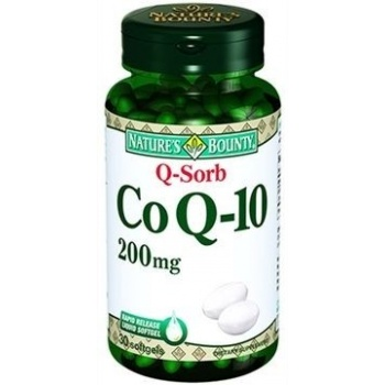 NATURES BOUNTY CO Q-10 200 MG ( Q-SORB)30 SOFTGELS