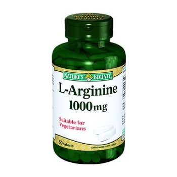 NATURES BOUNTY L-ARGİNİNE 1000 MG 50 TABLET