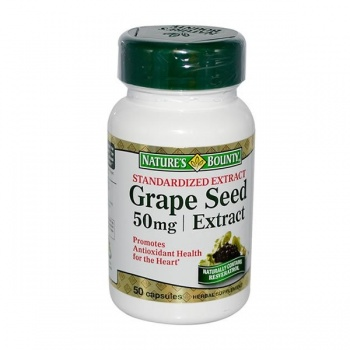 NATURES BOUNTY GRAPE SEED EXTRACT 50 MG 50 KAPSÜL