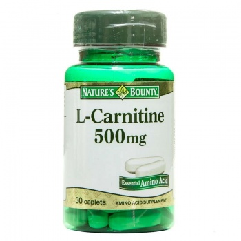 NATURES BOUNTY L-CARNİTİNE 500 MG 30 TABLET