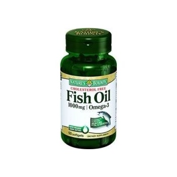 NATURES BOUNTY FİSH OİL 1000 MG/OMEGA 3 50 SOFTGELS