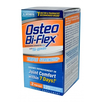 OSTEO Bİ-FLEX 5 LOXİN ADVANCE TRİPLE STRENGTH 120 CAPSUL