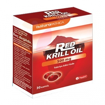 RED KRILL OİL 500 MG 30 TABLET