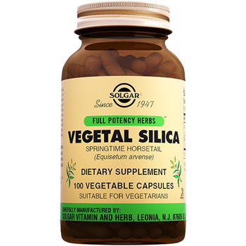 SOLGAR VEGETAL SİLİCA 100 VEGETABLE CAPSULES