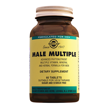 SOLGAR MALE MULTİPLE 60 TABLETS
