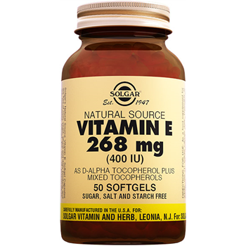 SOLGAR VİTAMİN E 400 IU 50 SOFTGELS