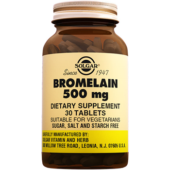SOLGAR BROMELAİN150 Mg DIETARY SUPPLEMENT 60 TABLETS