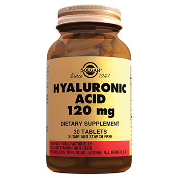 SOLGAR HYALURONİC ACİD 120 Mg 30 TABLETS