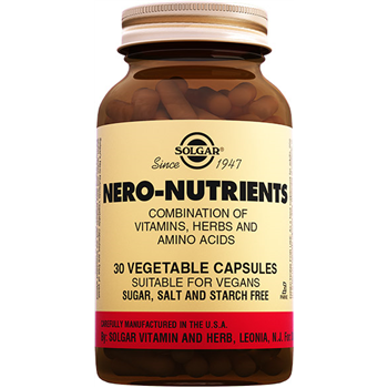 SOLGAR NERO NUTRİENTS 30 VEGATABLE CAPSULES