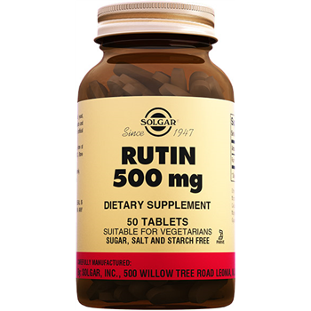 SOLGAR RUTİN 500 Mg 50 TABLETS