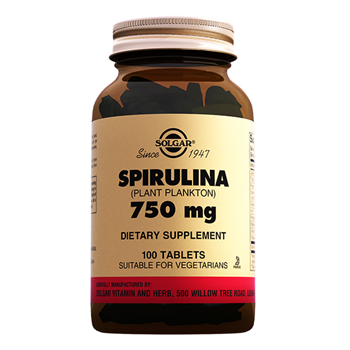 SOLGAR SPİRULİNA 750 Mg 100 TABLETS