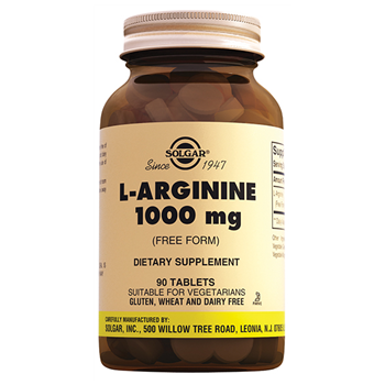 SOLGAR L-ARGİNİNE 1000 MG 90 TABLETS