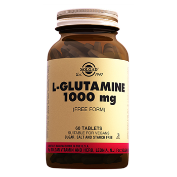 SOLGAR L-GLUTAMİNE 1000 Mg 60 TABLETS