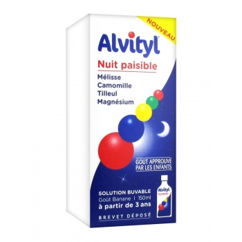 ALVİTYL PEACEFUL NİGHT 150 ML