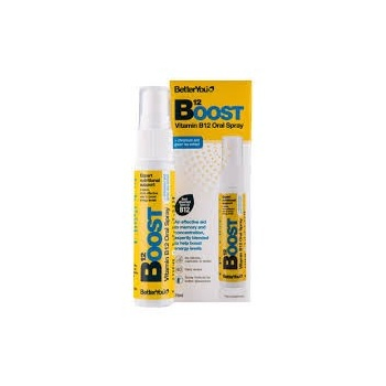 BOOST VİTAMİN B12 SPREY 25 ML