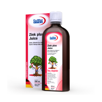 EURHO VİTAL ZİNK PLUS JUİCE 200 ML