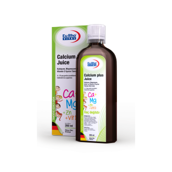 EURHO VİTAL CALCİUM PLUS JUİCE 200 ML