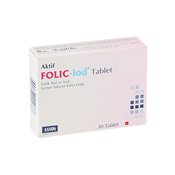 FOLİC İOD 30 TABLET