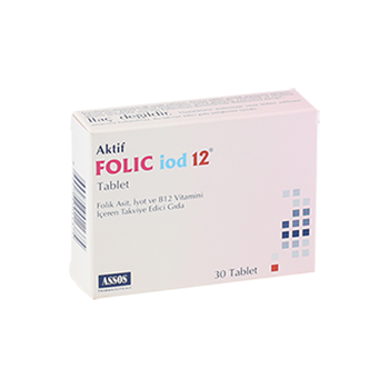 FOLİC İOD12  30 TABLET
