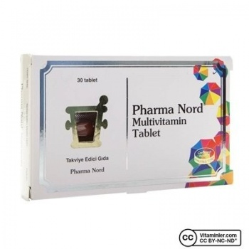 PHARMA NORD MULTİVİTAMİN 30 TABLET
