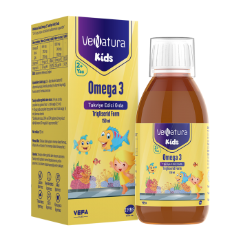 VENATURA PREMİUM KİDS OMEGA-3 150 ML