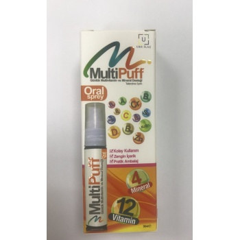 MULTİPUFF ORAL SPREY 30 ML-multivitamin sprey