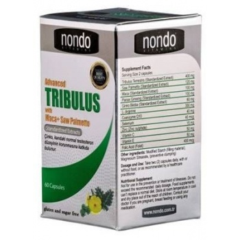 NONDO X ADVANCED TRİBULUS 60 KAPSÜL