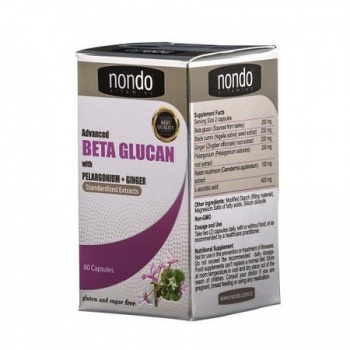 NONDO ADVANCED BETA GLUCAN 60 KAPSÜL