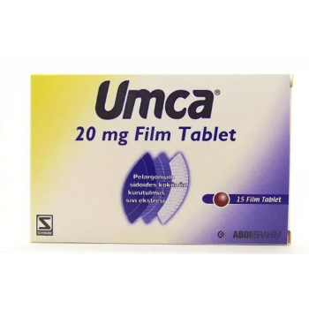 UMCA 20 MG 15 FILM TABLET